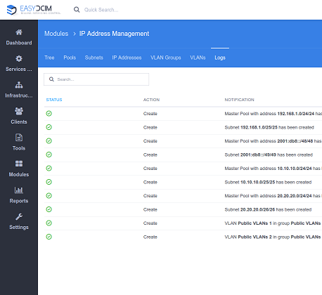 IP Address Management For EasyDCIM - Screenshot 10