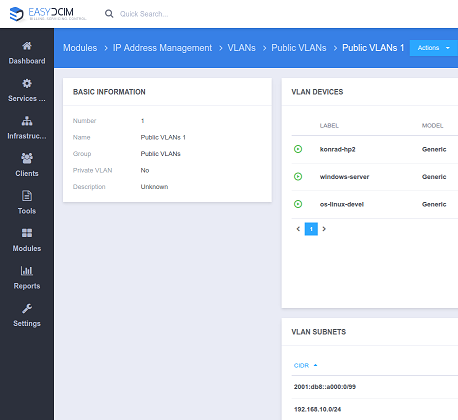 IP Address Management For EasyDCIM - Screenshot 8